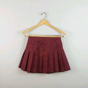 Maroon tennis skirt worn once